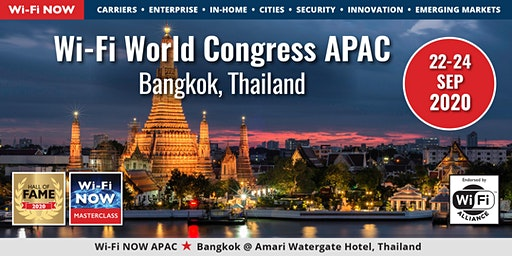 Wi-Fi NOW 2020 Asia-Pacific