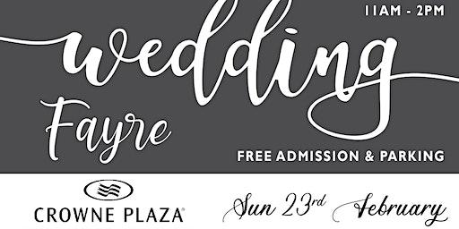 Crowne Plaza Wedding Fayre