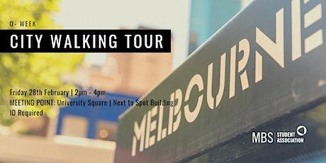 MBSSA O-Week City Walking Tour, 2020 tickets