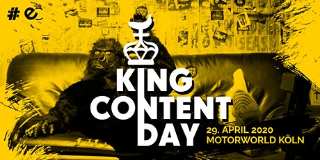 KING CONTENT DAY 2020 Tickets
