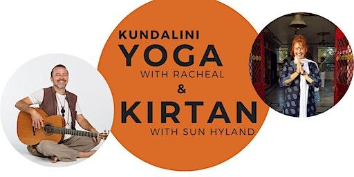 Kundalini Yoga with Rachael &  Kirtan with Sun Hyland