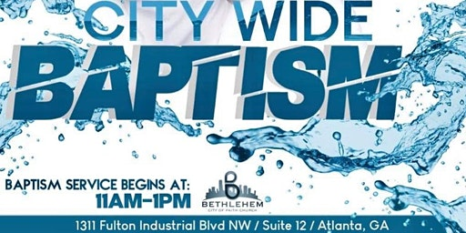 City Wide Baptism