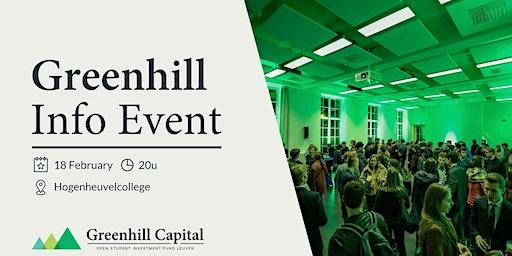 Info Event Greenhill Capital