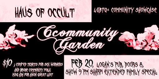 Cccommunity Garden LGTBQ showcase