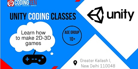 Unity Coding Workshop For Kids tickets
