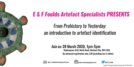 From Prehistory to Yesterday: an introduction to artefact identification tickets