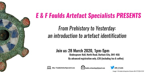 From Prehistory to Yesterday: an introduction to artefact identification