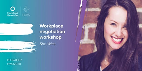 She Wins | Workplace negotiation workshop tickets
