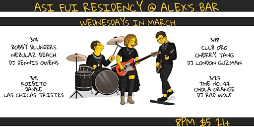 Asi Fui Wednesday Residency Night #1 ft. Bobby Blunders & Nebulaz Beach