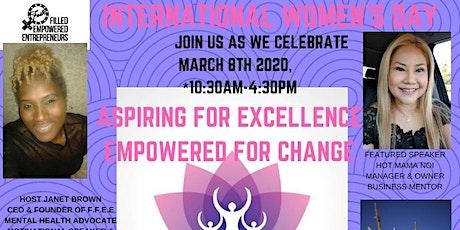 International Women's Day 2020 AspiringForExcellence - EmpoweredForChange  tickets