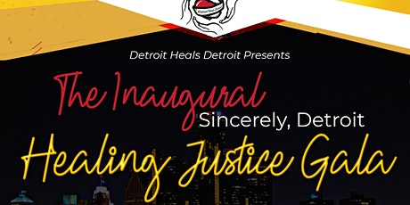 Healing Justice Gala tickets