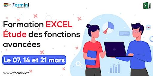 Formation EXCEL: Etude des Fonctions Avancées - Mars 2020