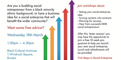 First Steps In Social Enterprise  tickets