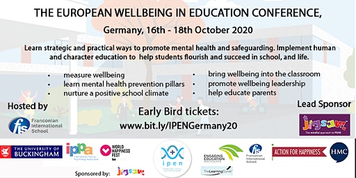 The European Wellbeing in Education Conference, Germany