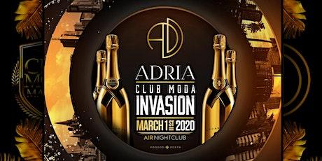 ADRIA - Club Moda Invasion - Labour Day Long Weekend tickets