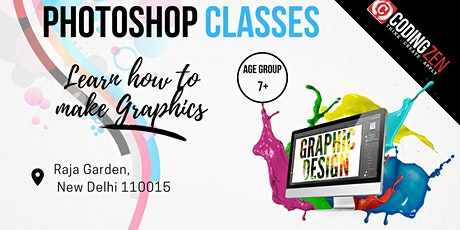 Adobe Photoshop Workshop For Kids tickets