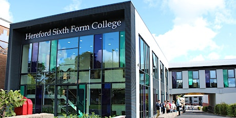 Hereford Sixth Form College Open Evening tickets