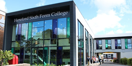 Hereford Sixth Form College Open Evening