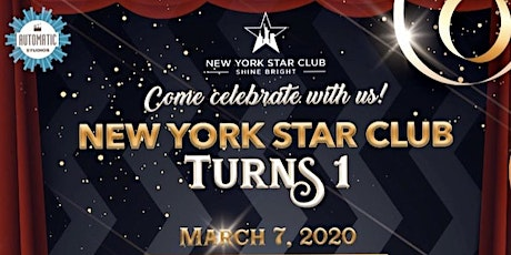 New York Star Club Turns One tickets