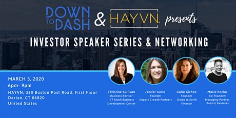 Investor Speaker Series and Networking Event tickets