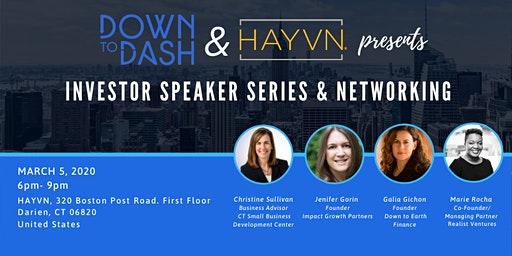 Investor Speaker Series and Networking Event