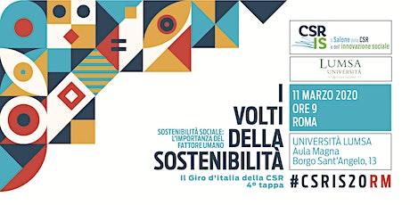 Il Salone della CSR e dell'innovazione sociale - Roma 2020 biglietti