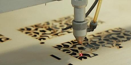 Atelier découverte : découpe et gravure laser billets