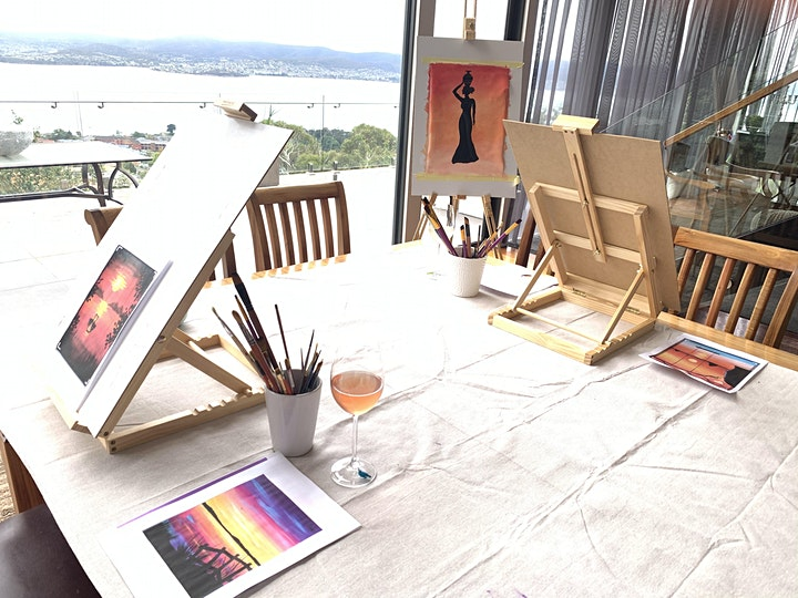 Colour and Clink Art in Home Studio image
