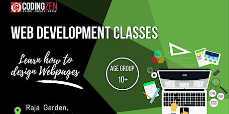 Website Development Workshop For Kids tickets