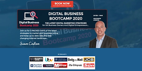 DIGITAL BUSINESS BOOTCAMP 2020 tickets