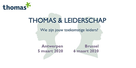 Thomas & Leiderschap tickets