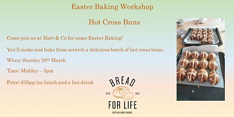 Easter Baking workshop with Hot Cross Buns tickets