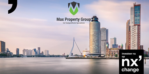 Nxchange presents Max Property Fund II: Making real estate investments 100% transparent and accessible to everyone