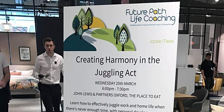 Creating Harmony in the Juggling Act - The 5 Gears Workshop tickets