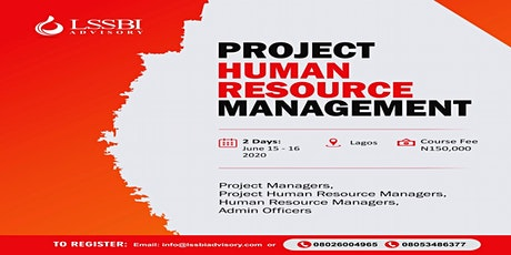 Project Human Resource Management tickets