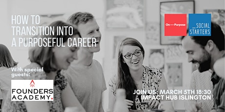 How to Transition into a Social and Environmental Impact Career tickets