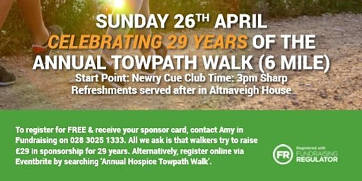 Annual Hospice Towpath Walk