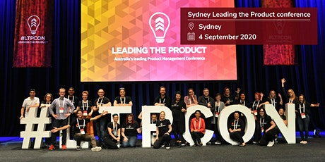 Leading The Product conference - Sydney 2020 tickets