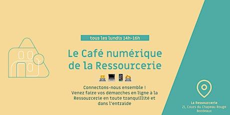Le café du numérique de la Ressourcerie billets