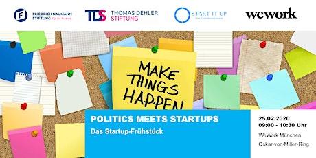 Politics meets Startups Tickets