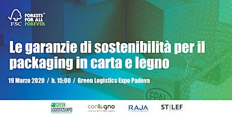 Le garanzie di sostenibilità per il packaging in carta e legno biglietti