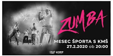 Mesec športa s KMŠ: Zumba tickets