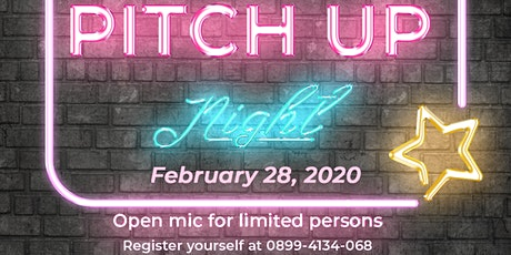 Pitch Up Night! tickets