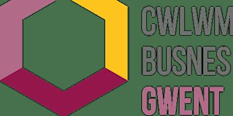 Cwlwm Busnes Gwent brecwast rhwydweithio tickets