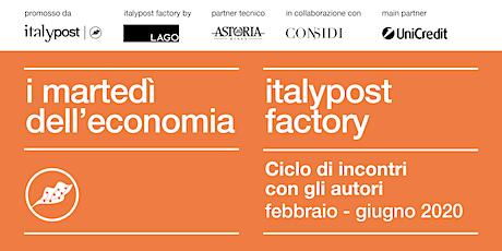 Martedì dell'economia: l'Emilia e il Veneto. Modelli a confronto biglietti