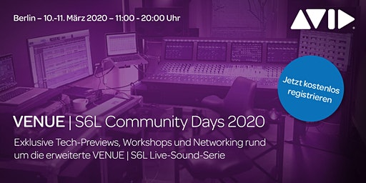 Workshop 2: Immersive Audio Integration in VENUE | S6L