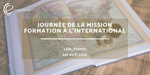 Journée de la mission Formation à l'international