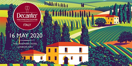 Decanter Italy Fine Wine Encounter 2020 tickets
