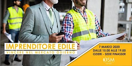 IMPRENDITORE EDILE - OZIERI biglietti