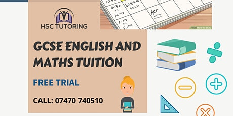 FREE GCSE Maths and English Trial  tickets